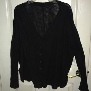 Black Urban Outfitters comfy shirt
